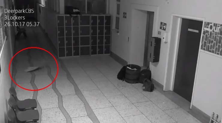 actividad paranormal escuela irlanda - Cámaras de seguridad muestran aterradora actividad paranormal en una escuela de Irlanda