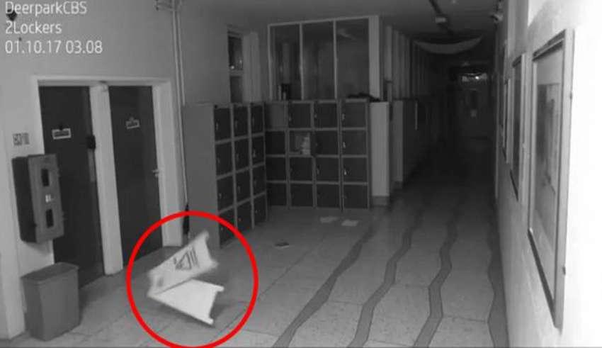 actividad paranormal irlanda 850x491 - Cámaras de seguridad muestran aterradora actividad paranormal en una escuela de Irlanda