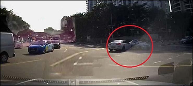 coche teletransportado accidente singapur - Un coche teletransportado provoca un accidente en Singapur