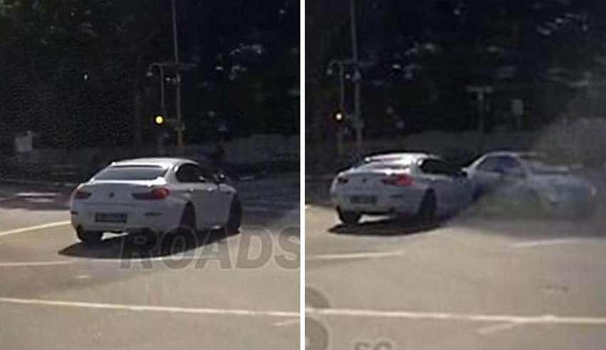 coche teletransportado singapur 850x491 - Un coche teletransportado provoca un accidente en Singapur