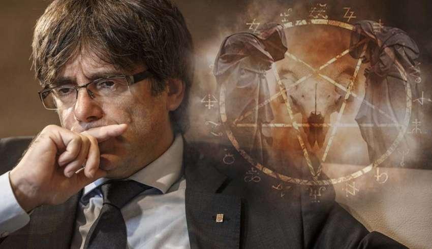 puigdemont magia negra 850x491 - El arma secreta de Puigdemont: la magia negra para destruir el estado español
