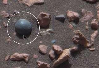 bola canon marte 320x220 - El rover Curiosity de la NASA descubre una bola de cañón en Marte