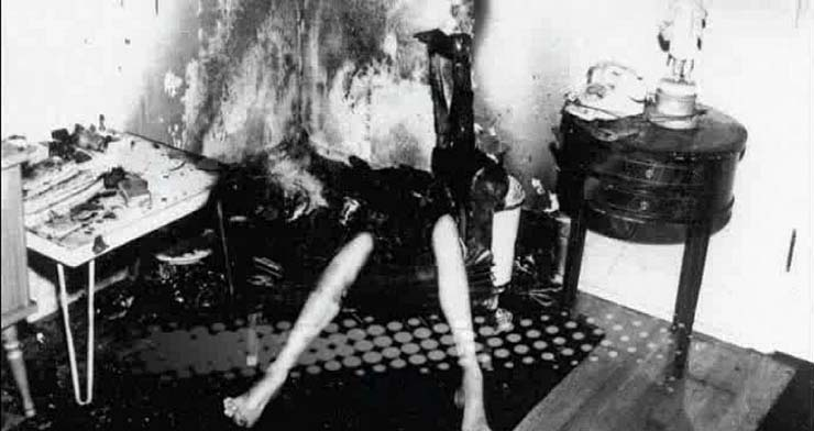 combustion espontanea humana calle londres - Decenas de testigos ven como un hombre muere quemado por combustión espontánea humana en una calle de Londres