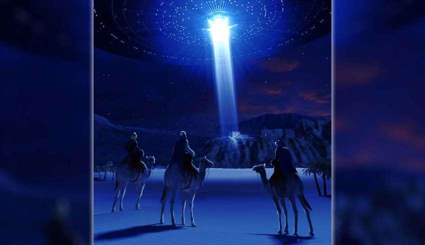 estrella belen ovni 850x491 - La verdad sobre La Estrella de Belén: un OVNI de origen extraterrestre