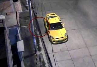misteriosa silueta peru 320x220 - Una cámara de seguridad capta una misteriosa silueta oscura en una calle de Perú el día de Navidad