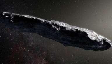 oumuamua nave extraterrestre 384x220 - Científicos aseguran que el asteroide Oumuamua podría ser una nave extraterrestre