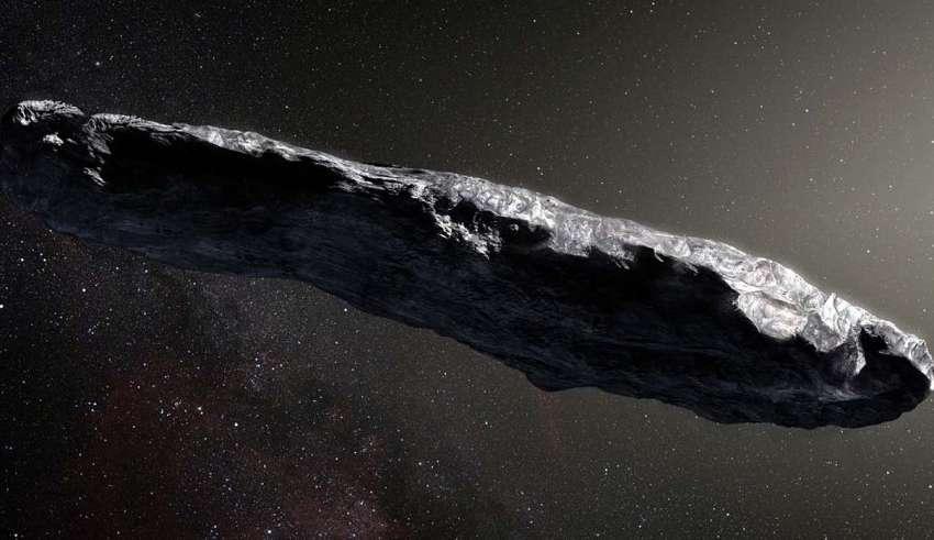 oumuamua nave extraterrestre 850x491 - Científicos aseguran que el asteroide Oumuamua podría ser una nave extraterrestre