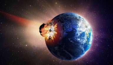 asteroide potencialmente peligroso 384x220 - Un asteroide potencialmente peligroso podría impactar contra la Tierra dentro de dos semanas