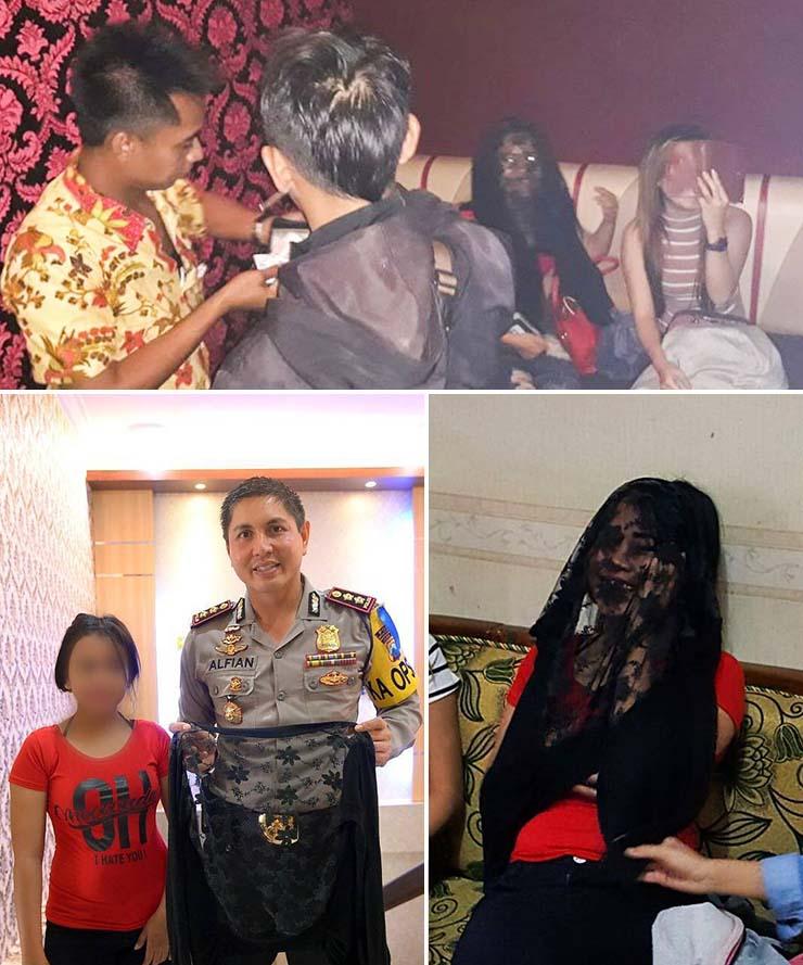 fantasma vampirico bar indonesia - Escalofriante imagen muestra un fantasma vampírico durante una redada en un bar de Indonesia