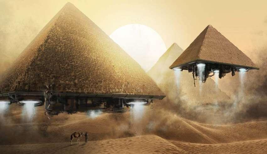 gran piramide trono extraterrestre 850x491 - Astrofísicos creen que en la misteriosa cámara vacía de la Gran Pirámide de Keops podría haber un trono extraterrestre