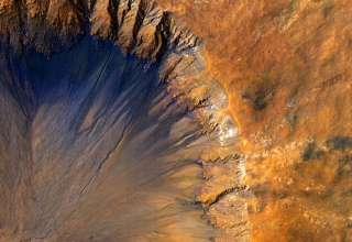 marte agua helada 320x220 - Hay vida extraterrestre en Marte: La NASA confirma que hay depósitos subterráneos de agua helada en el planeta rojo