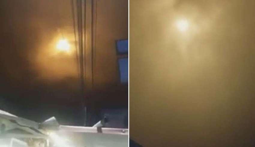 misteriosa luz colombia 850x491 - Una misteriosa luz muy brillante en el cielo provoca el pánico en una ciudad de Colombia