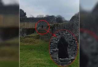 monje fantasmagorico castillo inglaterra 320x220 - Fotografían un monje fantasmagórico en un castillo de Inglaterra
