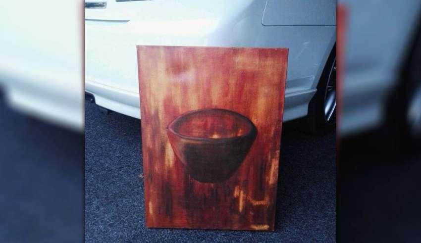 pintura embrujada 850x491 - Venden una verdadera pintura embrujada que causó actividad paranormal en una casa de Nueva Zelanda