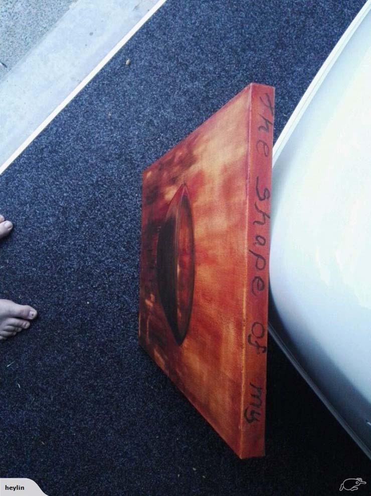 pintura embrujada nueva zelanda - Venden una verdadera pintura embrujada que causó actividad paranormal en una casa de Nueva Zelanda
