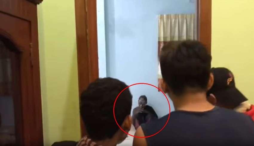 actriz poseida 850x491 - Aterrador vídeo muestra una actriz camboyana poseída por un espíritu real durante el rodaje de una película