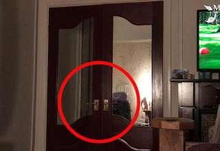 fantasma armario 320x220 - Un padre graba el escalofriante momento en que un fantasma cierra la puerta de un armario