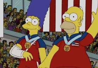los simpson curling 320x220 - Y lo han vuelto a hacer: Los Simpson predicen el oro olímpico de Estados Unidos en curling