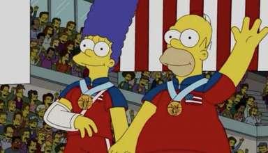 los simpson curling 384x220 - Y lo han vuelto a hacer: Los Simpson predicen el oro olímpico de Estados Unidos en curling