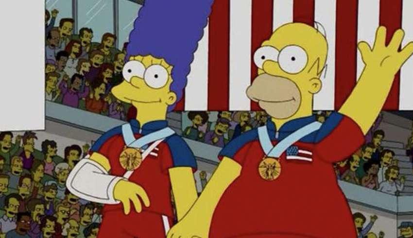 los simpson curling 850x491 - Y lo han vuelto a hacer: Los Simpson predicen el oro olímpico de Estados Unidos en curling