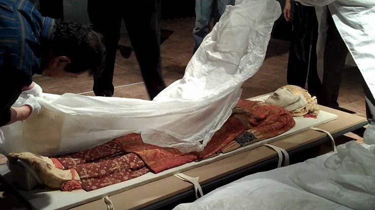 misteriosas momias europeas china - Las misteriosas momias europeas de China