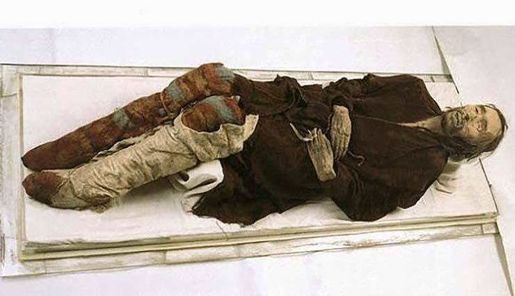 momias europeas de china - Las misteriosas momias europeas de China