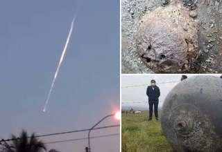 peru bola fuego 320x220 - Tres misteriosas esferas gigantes caen del cielo sobre Perú después de la aparición de una bola de fuego en el cielo