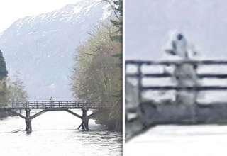 astronauta lago ness 320x220 - Fotografían un humanoide similar a un astronauta sobre un puente en lago Ness