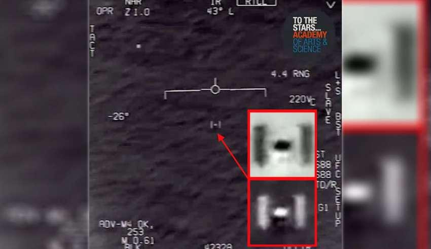 caza estadounidense ovni 850x491 - Nuevo vídeo desclasificado muestra un caza estadounidense persiguiendo un OVNI sobre el Océano Atlántico
