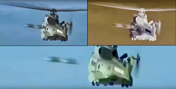 dos ovnis operacion rescate - Un canal de noticias graba dos ovnis durante una operación de rescate en la costa francesa