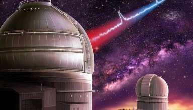 estallido radio fuerte 384x220 - Los astrónomos detectan el estallido de radio más fuerte jamás recibido y podría ser de origen extraterrestre