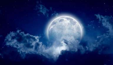 luna azul pascua 384x220 - Luna azul de la noche de Pascua: Profecías, significado espiritual y rituales