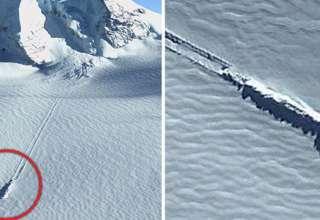 ovni estrellado antartida 320x220 - Imágenes de Google Earth revelan un OVNI estrellado en la Antártida