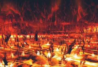 """papa francisco infierno 320x220 - El Papa Francisco afirma que """"el infierno no existe"""" y el techo se cae misteriosamente en la Basílica de San Pedro"""