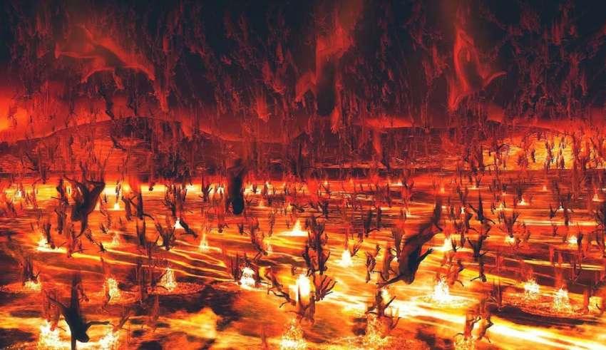 """papa francisco infierno 850x491 - El Papa Francisco afirma que """"el infierno no existe"""" y el techo se cae misteriosamente en la Basílica de San Pedro"""