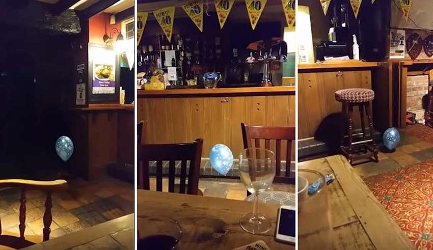 fantasma nino globo 850x491 - Vídeo muestra el fantasma de un niño jugando con un globo en un pub de Gales