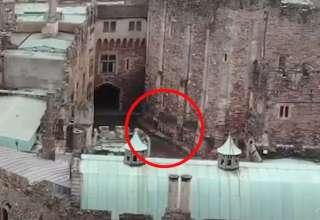 jinete espectral 320x220 - Un dron capta un jinete espectral galopando sobre un castillo del siglo XII