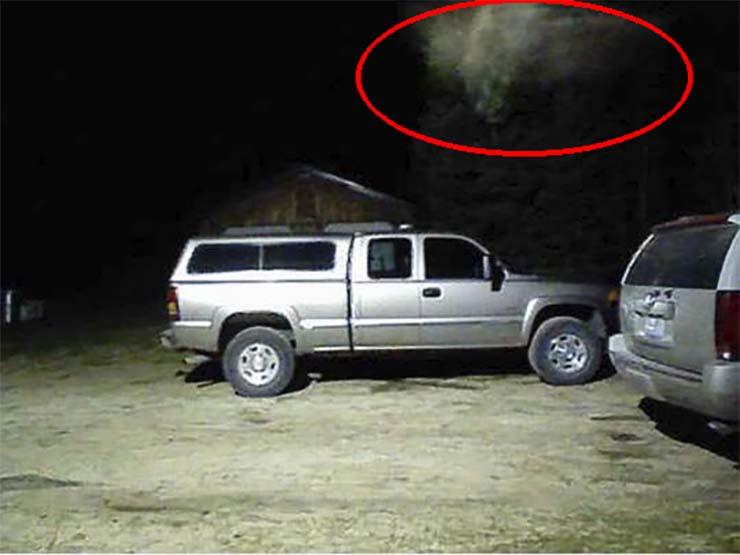 bomberos angel - Jefe de bomberos de una ciudad estadounidense asegura que su cámara de seguridad captó un ángel real