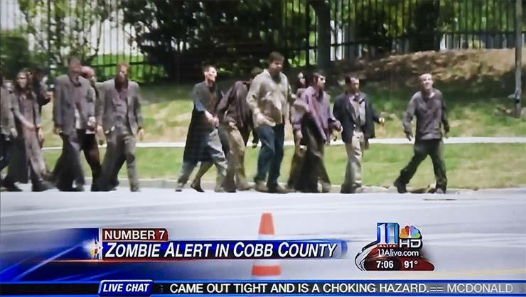 ciudad florida alerta zombi - Una ciudad de Florida declara la alerta zombi