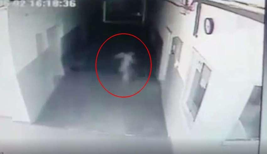 fantasma comisaria policia 850x491 - Cámara de seguridad capta un fantasma vagando en el interior de una comisaría de policía de Serbia