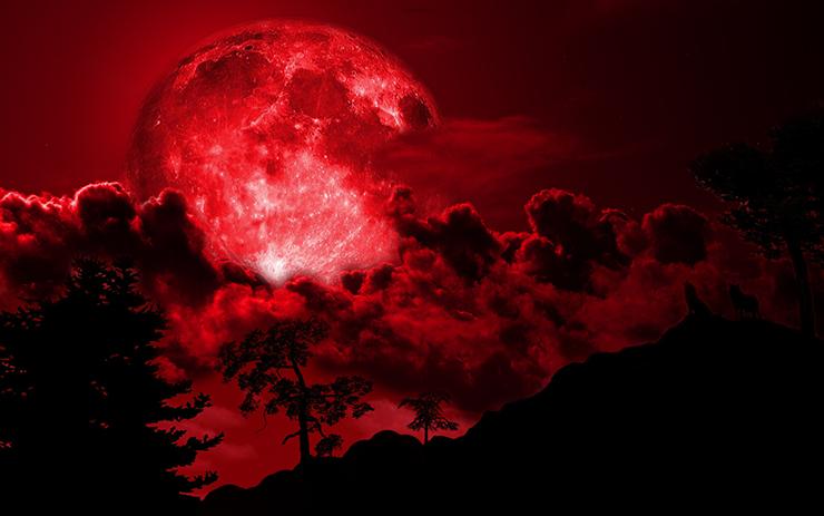 profecia luna sangre - La profecía de la Luna de Sangre: la biblia predice el fin de los tiempos para las próximas semanas