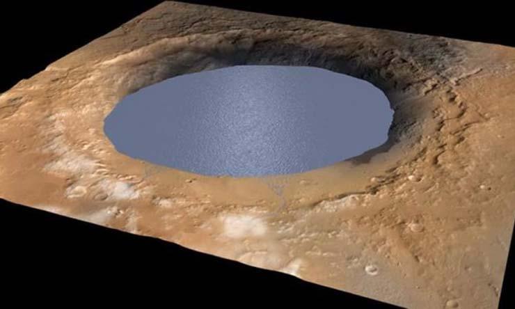 agua liquida marte vida extraterrestre - Científicos confirman que hay agua líquida en Marte y la existencia de vida extraterrestre podría ser lo siguiente