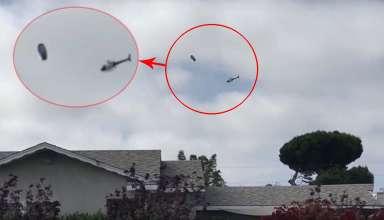 los angeles ovni 384x220 - Impactante vídeomuestra un helicóptero de la policía de Los Ángeles interceptando a un OVNI