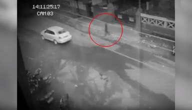fantasma filipinas 384x220 - Cámara de seguridad capta un fantasma cruzando una calle en Filipinas