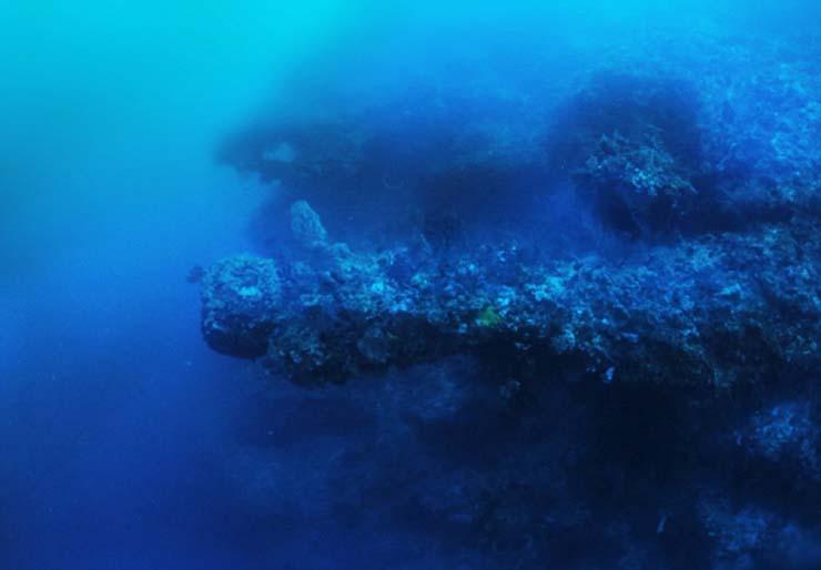 nave extraterrestre triangulo de bermudas - Un explorador de Discovery Channel descubre una nave extraterrestre en el Triángulo de las Bermudas