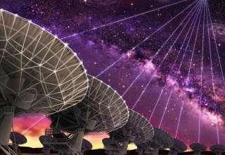 senal radio extraterrestre 320x220 - Un radiotelescopio canadiense detecta una señal de radio extraterrestre procedente del espacio profundo
