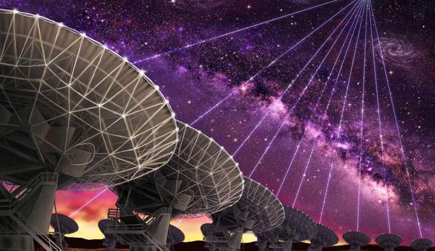 senal radio extraterrestre 850x491 - Un radiotelescopio canadiense detecta una señal de radio extraterrestre procedente del espacio profundo