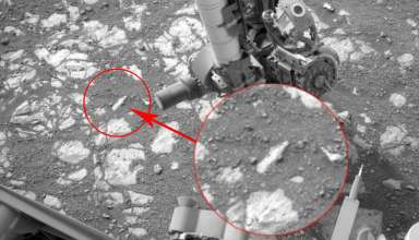 botella marte 384x220 - La NASA apaga el rover Curiosity después de descubrir una botella en Marte