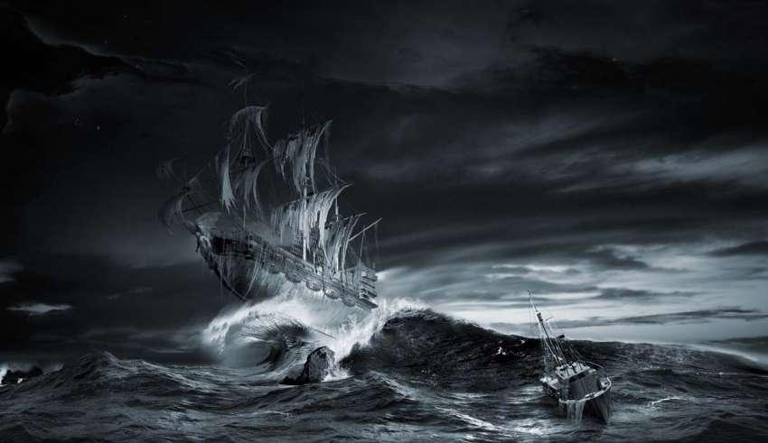 holandes errante 850x491 - La leyenda del holandés errante, encuentros con el barco fantasma más famoso de todos los tiempos