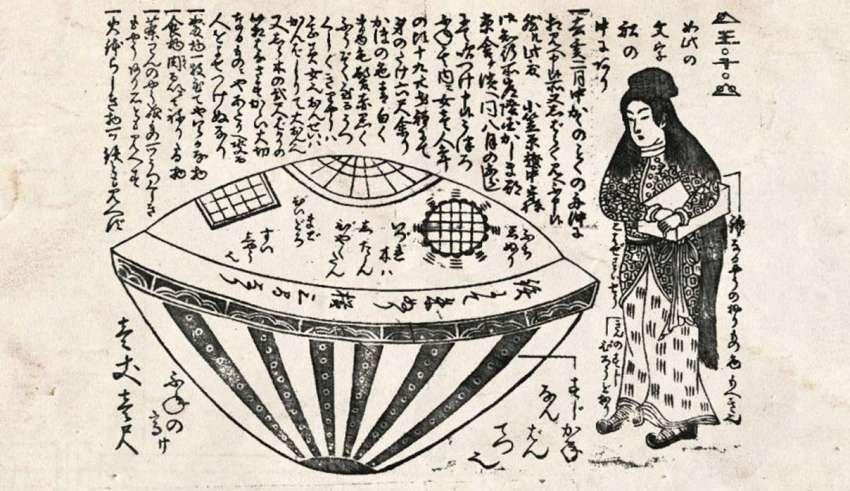 leyenda mujer extraterrestre 850x491 - Utsuro-bune, la leyenda japonesa de la mujer extraterrestre que llegó del mar